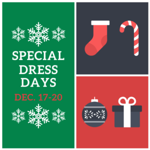 Special Dress Days For Dec. 17-10