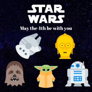 Star Wars May The 4th Be With You